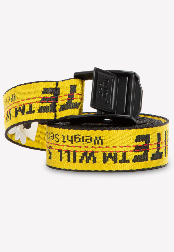 Mini Industrial Belt with Woven Logo