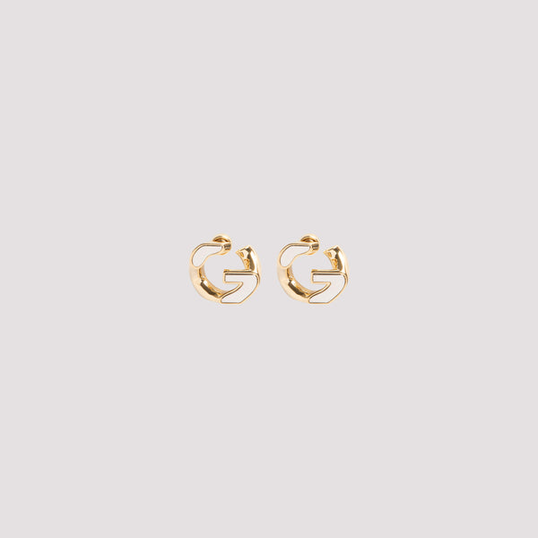 Givenchy G Chain Gold Medium Earrings Gold BF10MJF003-711 GOLD SILVER
