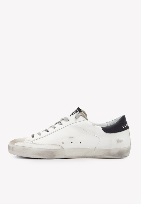 Superstar Distressed Sneakers in Cow Leather