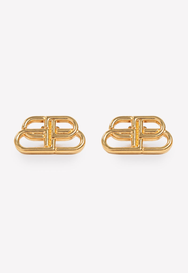 BB Gold Plated Stud Earrings