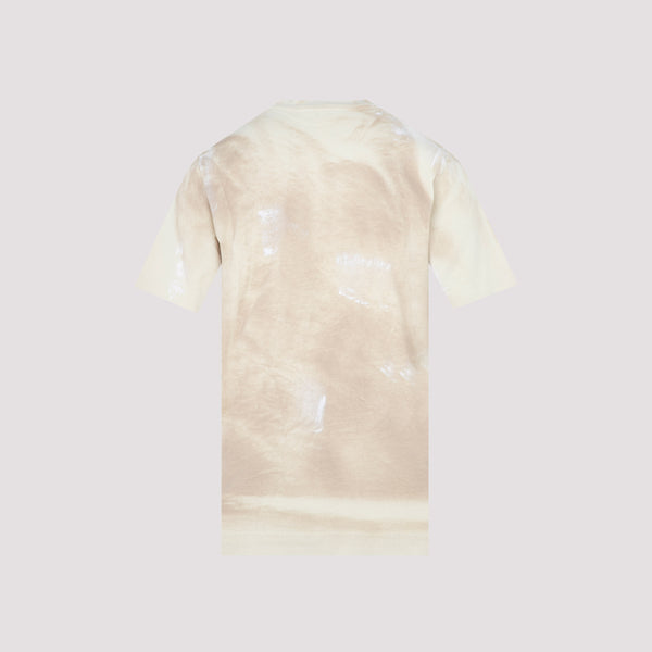 All-over Print Double Logo T-shirt