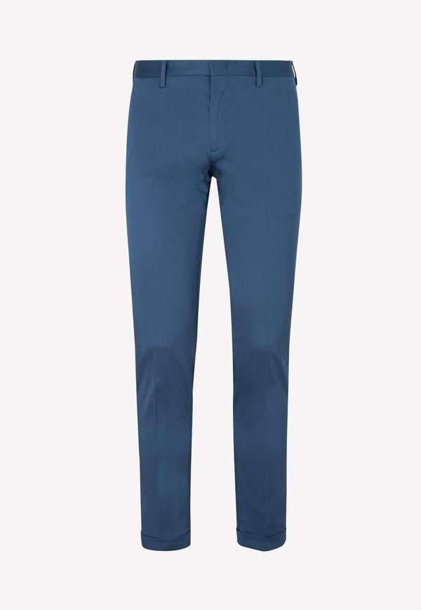 Paul Smith Cotton Pants -  Navy