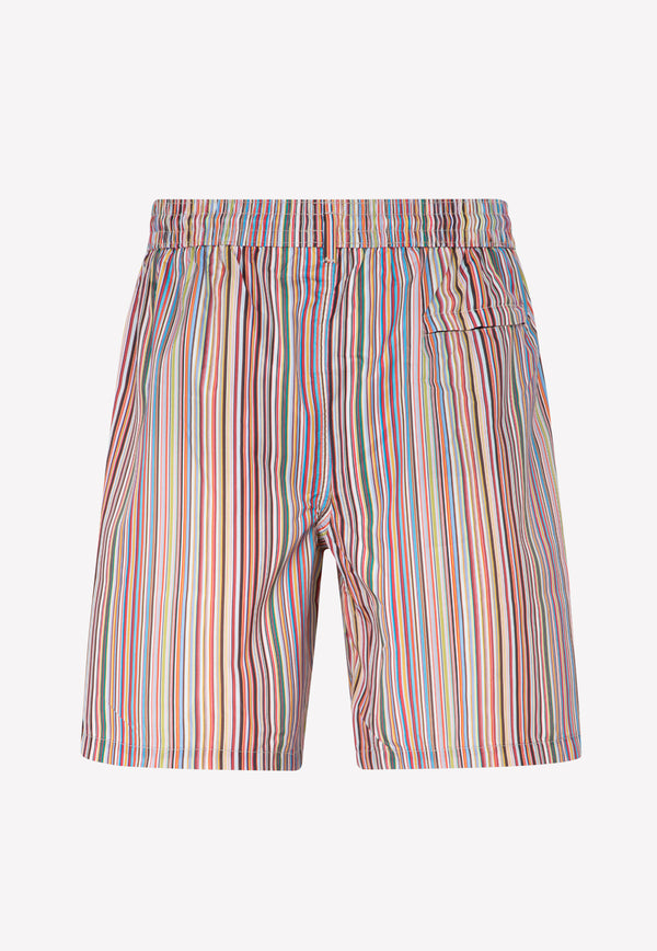 Paul Smith Multi Stripe Swim Shorts -  Multi