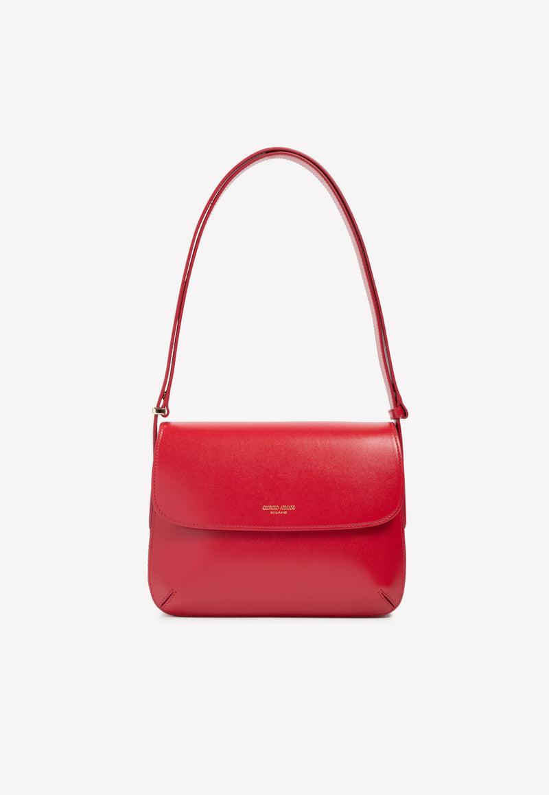 La Prima Shoulder Bag in Calf Leather