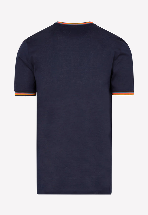 Paul Smith Cotton T-shirt -  Dark Navy