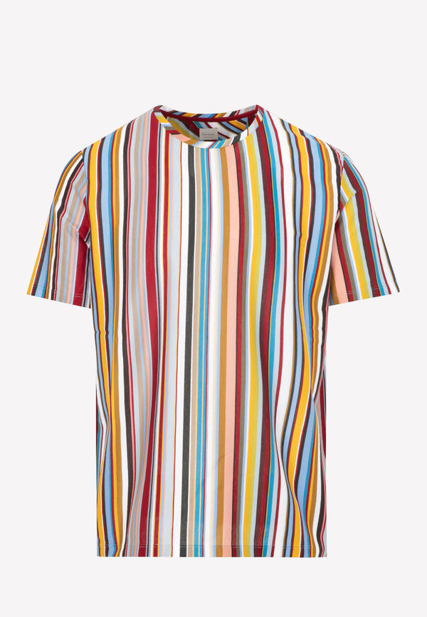 Paul Smith Cotton T-shirt -  Multi