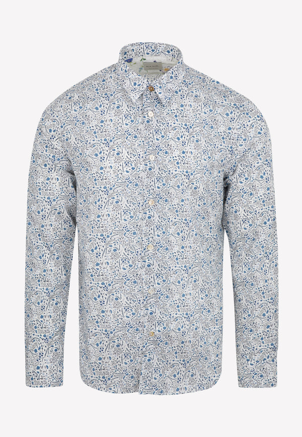 Paul Smith Gents Sc Slim Shirt -  Navy