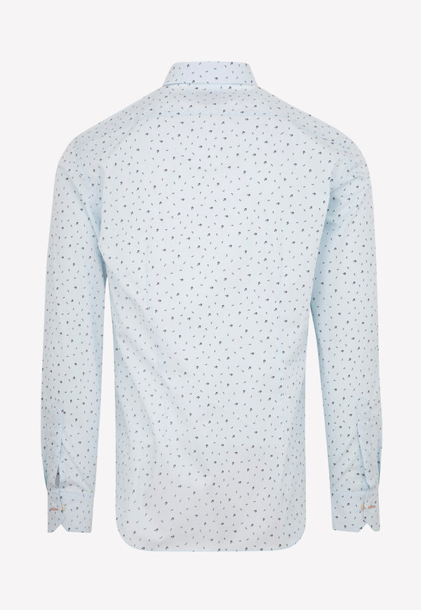 Paul Smith Gents Sc Slim Shirt -  Lt Blue