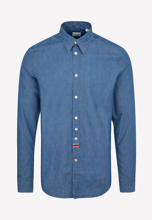 Paul Smith Gents Sc Slim Shirt -  Indigo