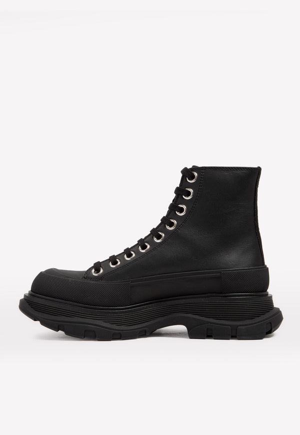 Tread Slick Lace-up Lug Boots