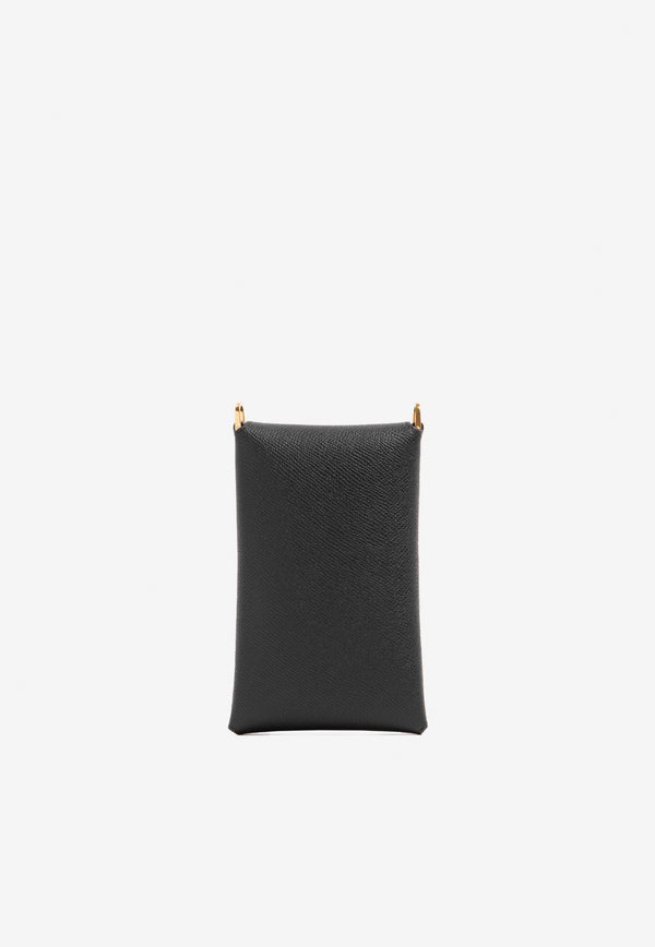 Envelope Pouch in Grained Calfskin