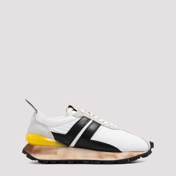 Lanvin Running Sneakers -  White Black