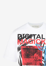 Digital Magick Printed T-shirt
