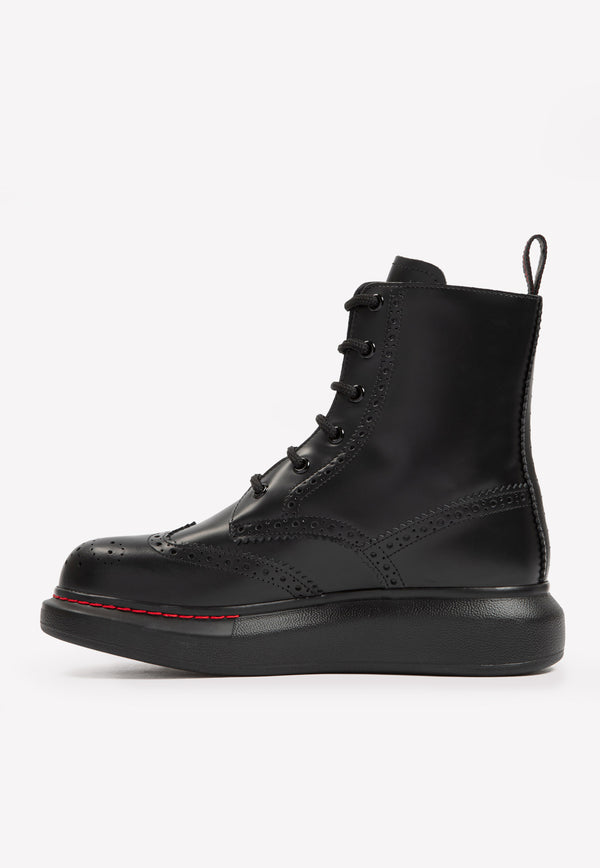 Hybrid Lug Boots in Calf Leather