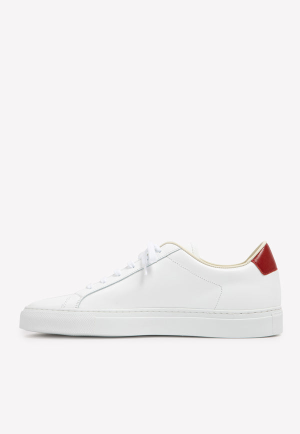 Retro Low-top Sneakers in Leather