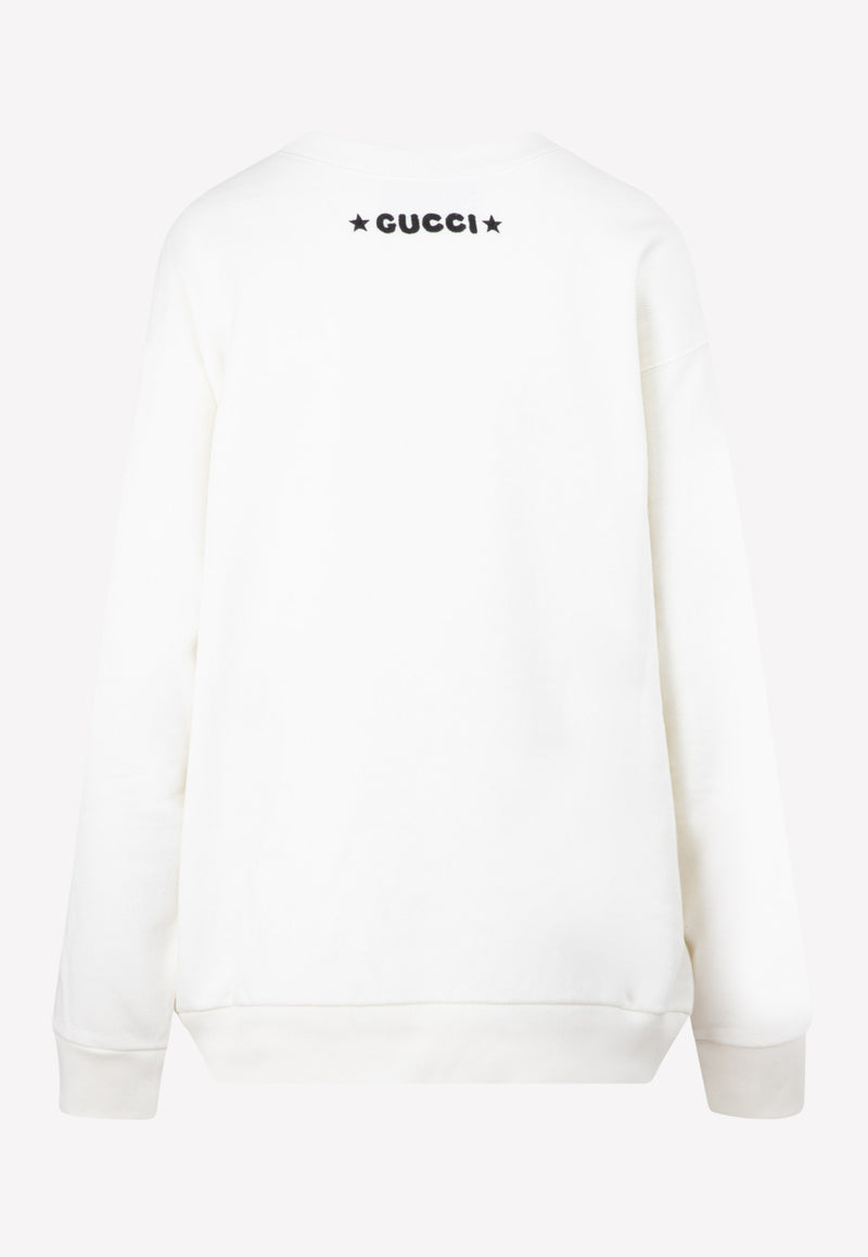 Gucci x Disney Donald Duck Cotton Sweatshirt