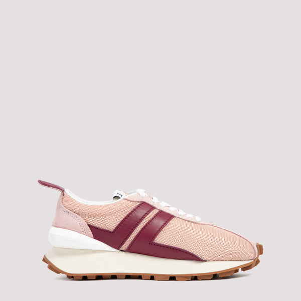 Lanvin Running Sneakers - B536 Blush Red