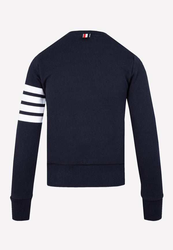 Classic 4-Bar Crewneck Sweatshirt