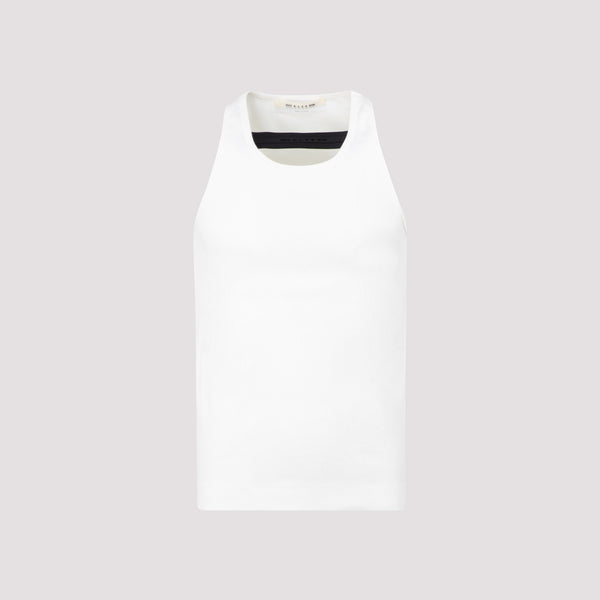 Sleeveless T-shirt with Cut-out Detail
