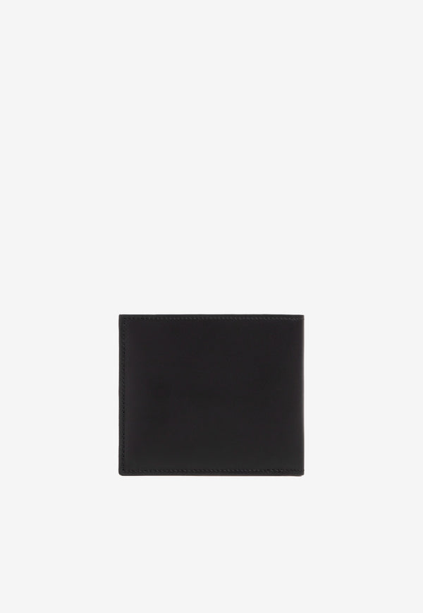 Paul Smith Black Signature Stripe Insert Billfold Wallet in Leather M1A4832.BMULTI-79 BLACK 2