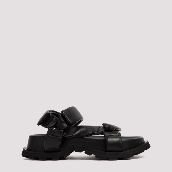Chunky Sandals in Calfskin