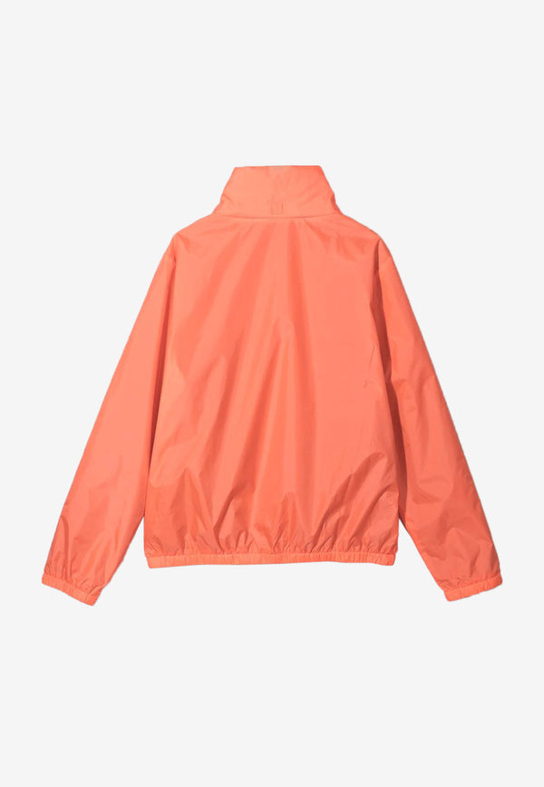 Stella McCartney Boys Hooded Windbreaker Jacket Orange 602337SQK46ORANGE