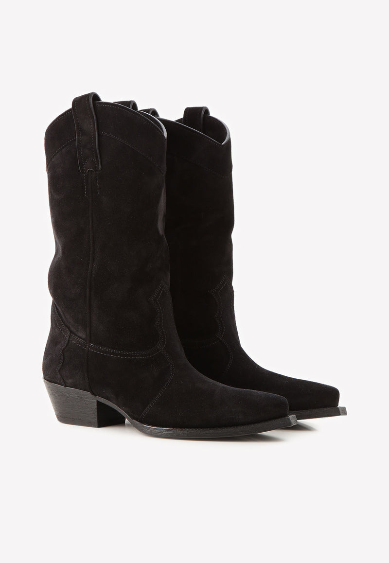 Lukas 40 Suede Mid-Calf Boots