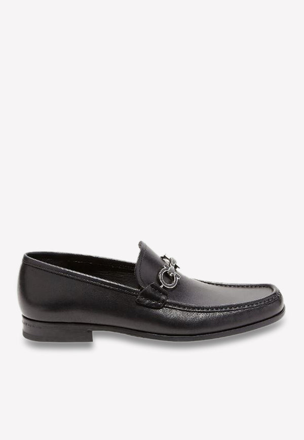 Chris Reversible Gancini Loafers in Calfskin