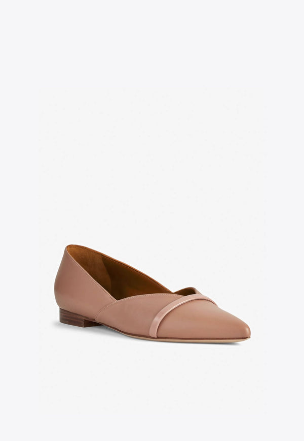 Colette Flats in Nappa Leather-E