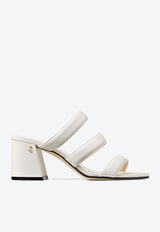 Auna 65 Strappy Mules in Nappa Leather