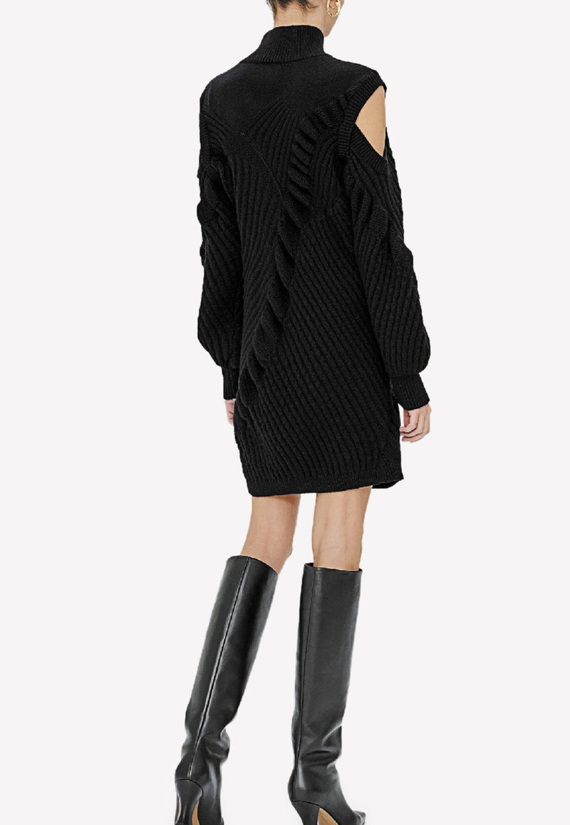 Kimi Mini Sweater Dress in Wool Blend