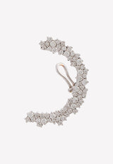Marie 18K White Gold Diamond Pave Ear Cuff