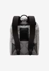 Palermo Tecnico Neoprene Backpack with Logo Print
