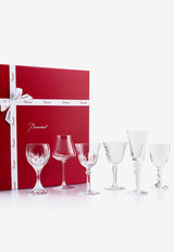 Crystal Wine Therapy Set- Set of 6