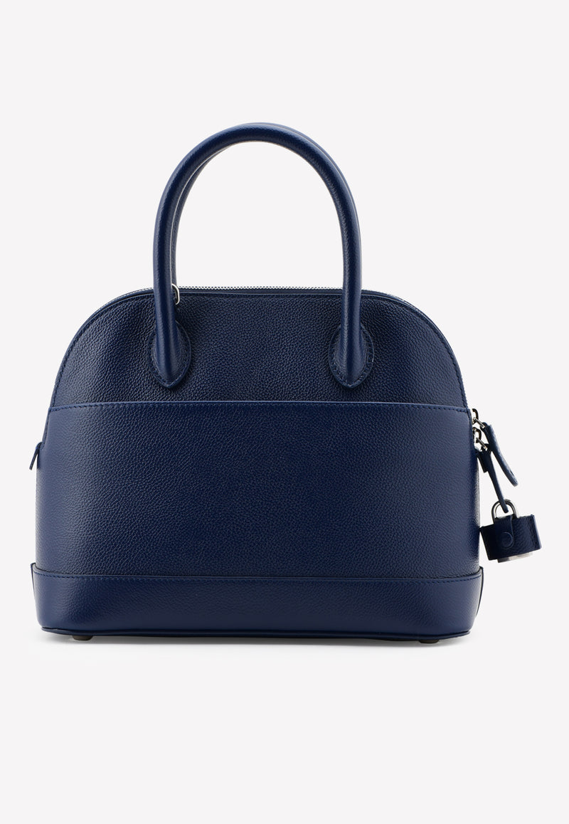 Small Villle Top Handle Bag in Grained Calfskin