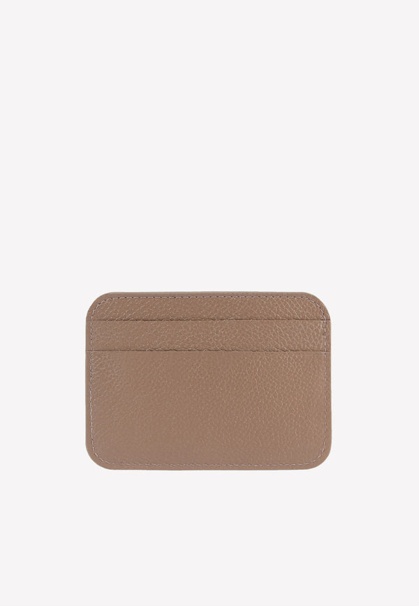 Cash Card Holder in Grained Calfskin
