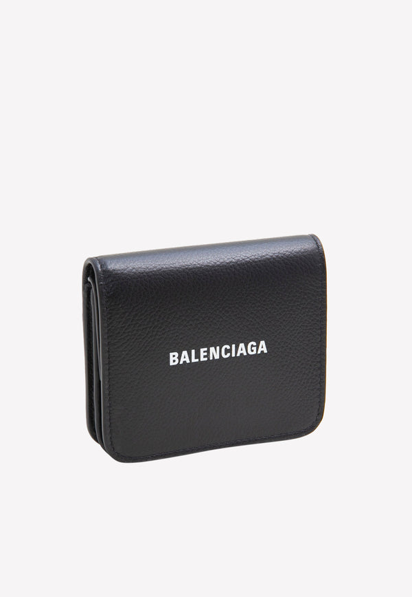 Cash Flap Coin And Card Holder in Grained Calfskin