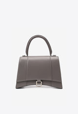 حقيبة Medium Hourcmer Top Handle Bag in Smooth Leather