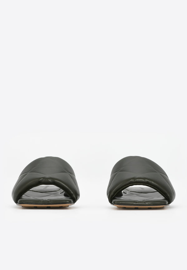ME Exclusive - The Lido Flats in Quilted Nappa Lambskin