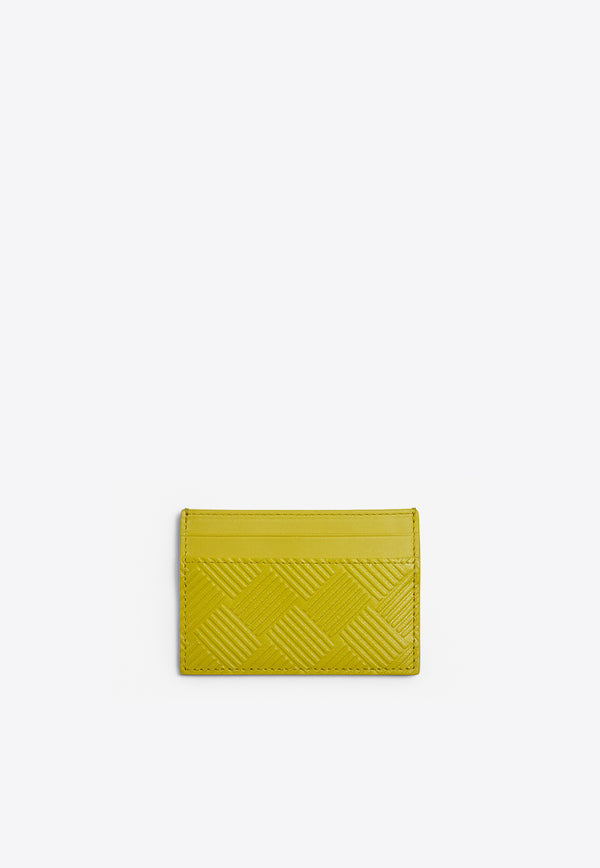Cardholder in Debossed Calf Leather
