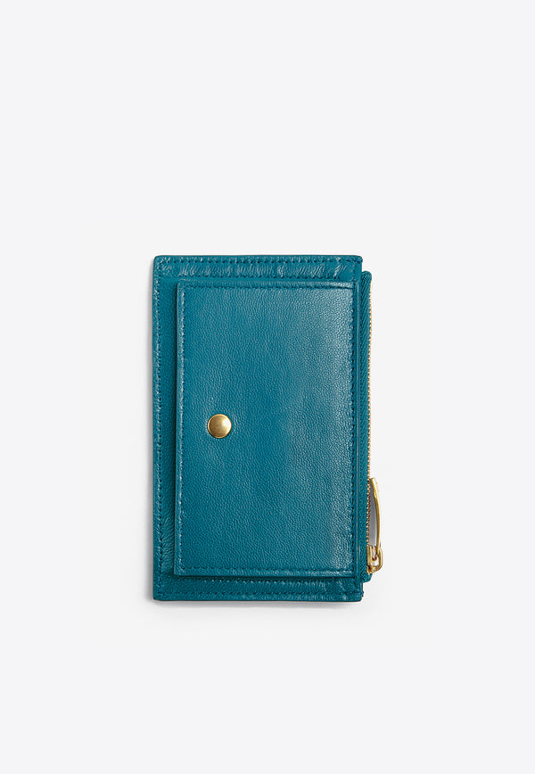 Cardholder in Intrecciato Nappa Leather