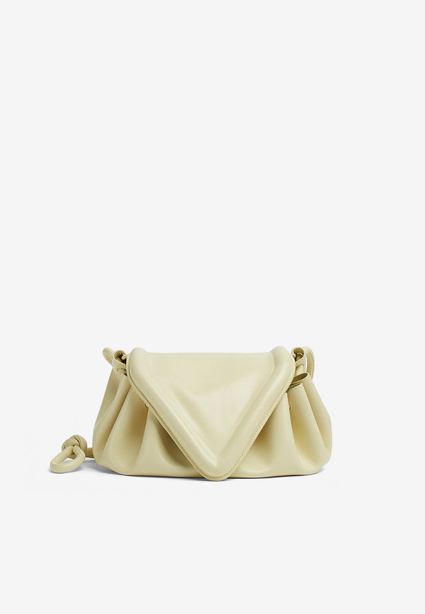 The Beak Crossbody Bag in Nappa Leather