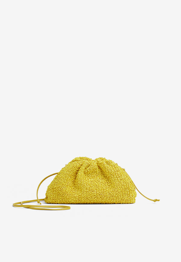 The Mini Pouch in Bouclé Curly Rafia