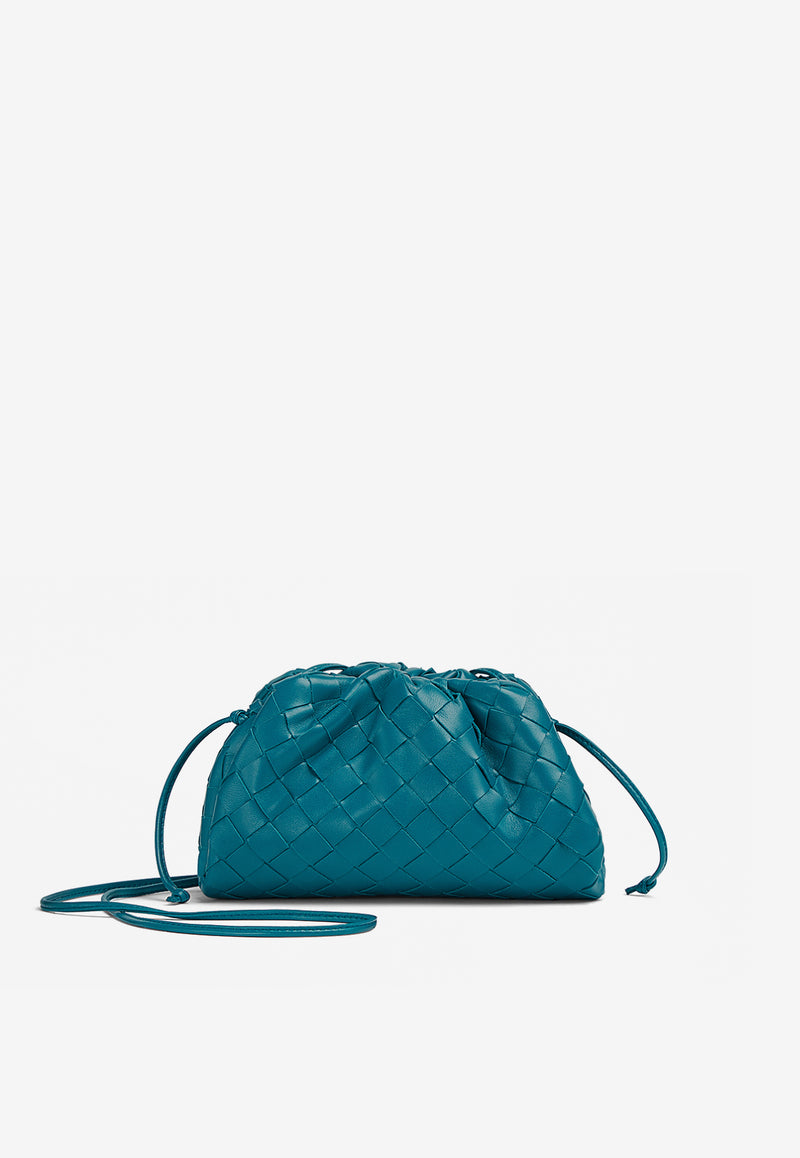 The Mini Pouch in Intrecciato Lambskin