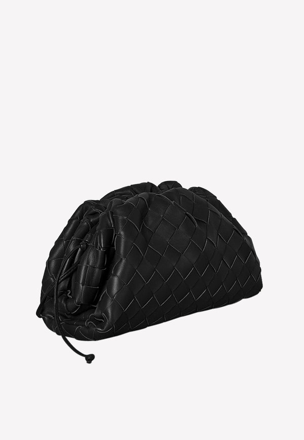 The Pouch 20 in Intrecciato Lambskin