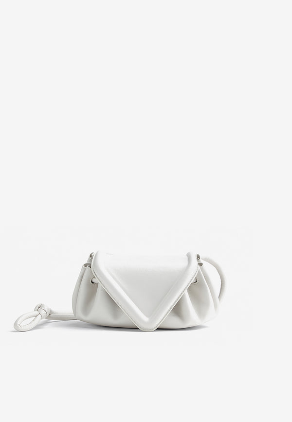 The Small Beak Shoulder Bag in Nappa Leather