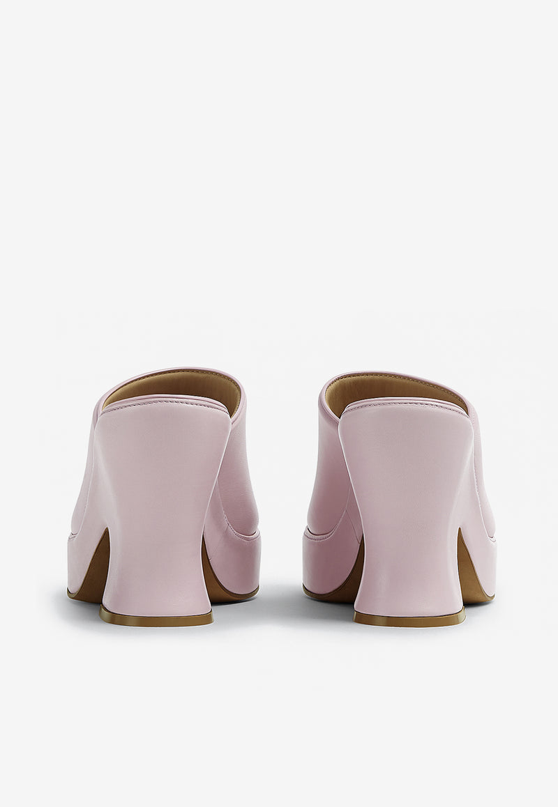 Wedge Sandals in Nappa Leather