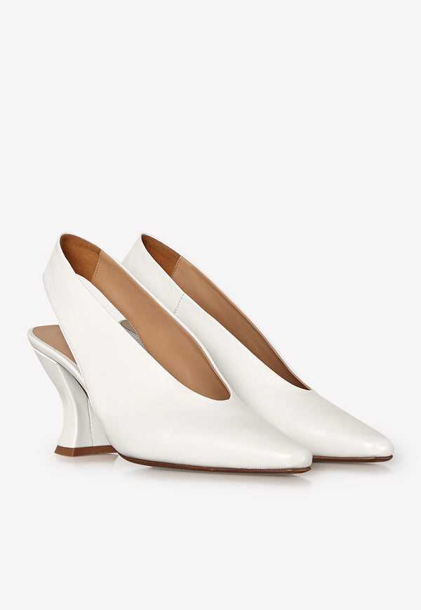 Almond 75 Pumps in Nappa Leather