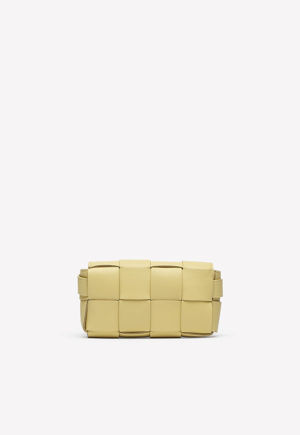 Cassette Belt Bag in Intrecciato Nappa Leather