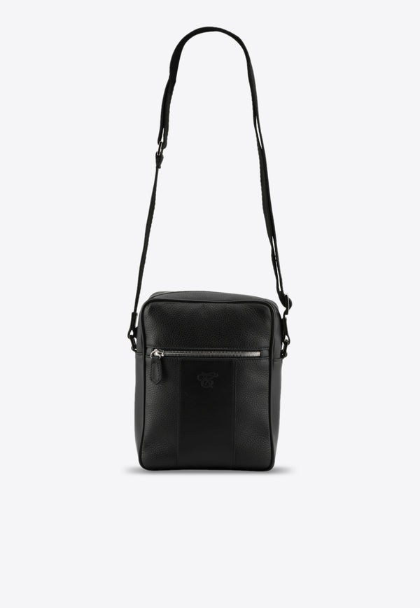 Shoulder Bag in Grained Calfskin